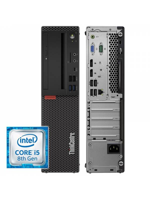 PC LENOVO THINKCENTRE M720S I5 -8400 8GB SSD 256GB W10PRO