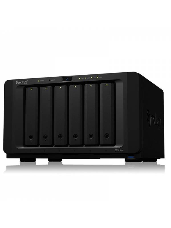 CAJA NAS DS3018XS SYNOLOGY 6X  HDD HASTA 60TB