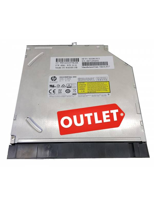 RW DVD INTERNO HP PORTATIL 9.5 mm OEM
