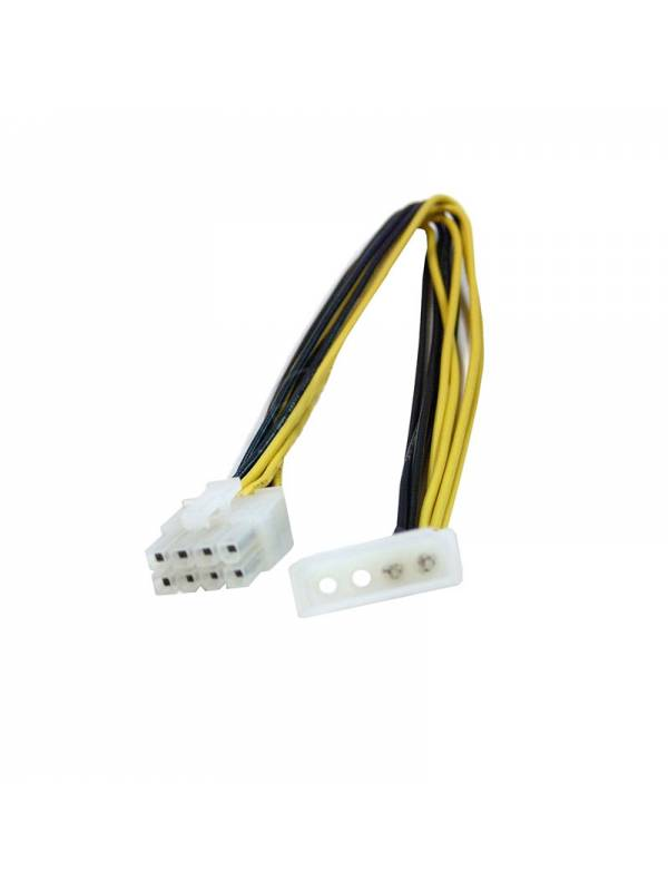 CABLE ALIMENTACION INT. 2 MOLE X A 8 PINS PLACA BASE