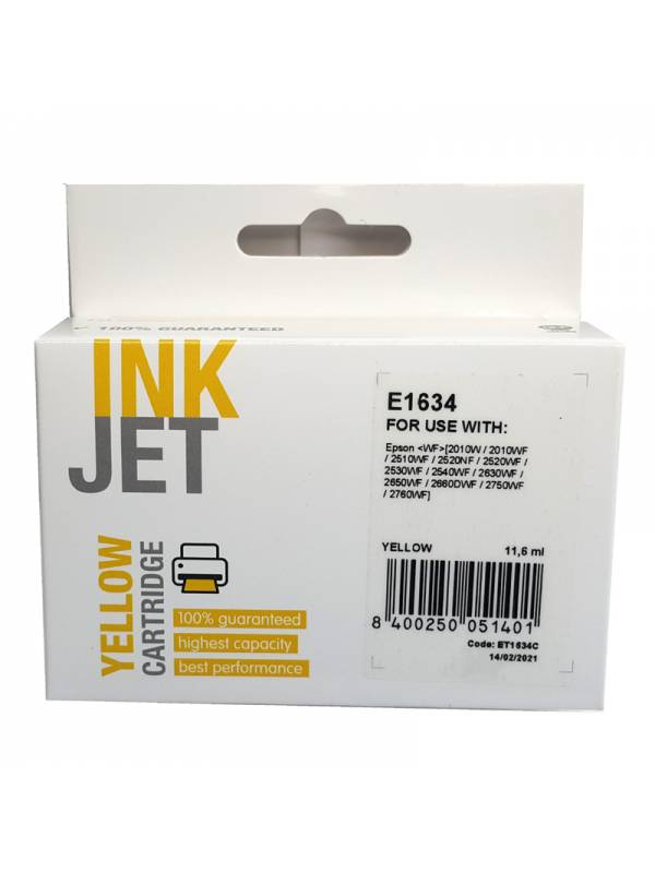 CARTUCHO INK EPSON T163440T16 24 AMARILLO