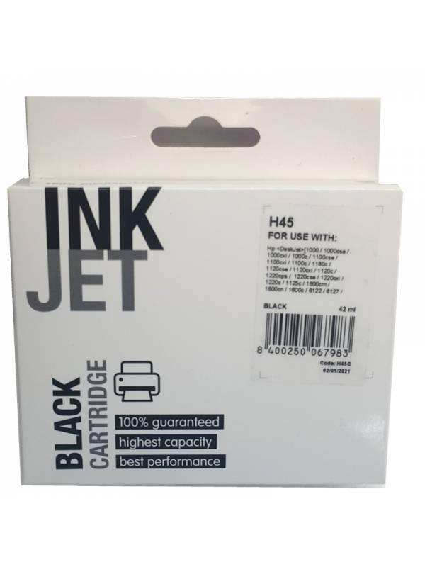 CARTUCHO INK HP 51645A H45     NEGRO