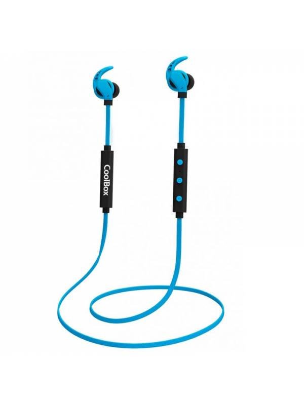 AURI. +  MIC BT COOLBOX COOLSP ORT II IN EAR AZUL