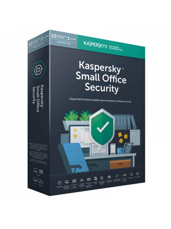 ANTIV.10LC KASPERSKY SMALL OFF ICE SECURITY V6 2019