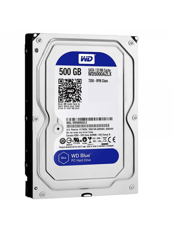 DISCO 3.5    500GB WD BLUE