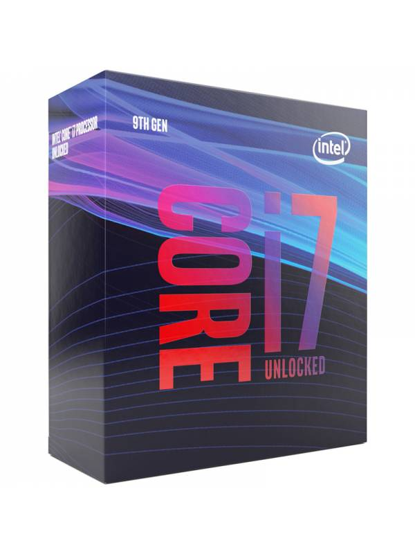 CPU INTEL S-1151 CORE I7-9700K  3.6GB BOX SIN VENTILADOR