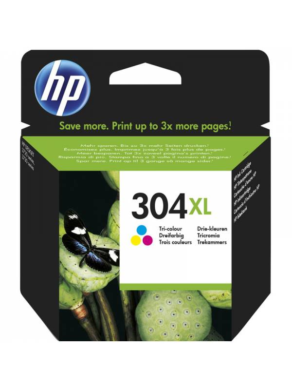 CARTUCHO HP N9K07AE N304XL TRI COLOR