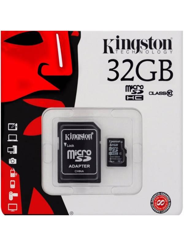 MEMORIA DG  32GB KINGSTON MSD SD CLASE 10