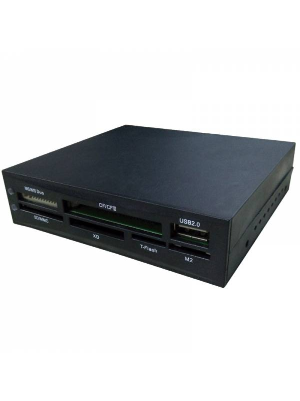 LECTOR INT. COOLBOX NEGRO      SD MS XD CF MICROSD M2