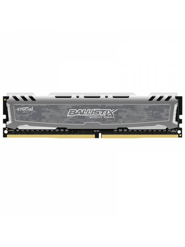 DDR4 16GB2666 CRUCIAL BALLIST I SPORT LT GRIS