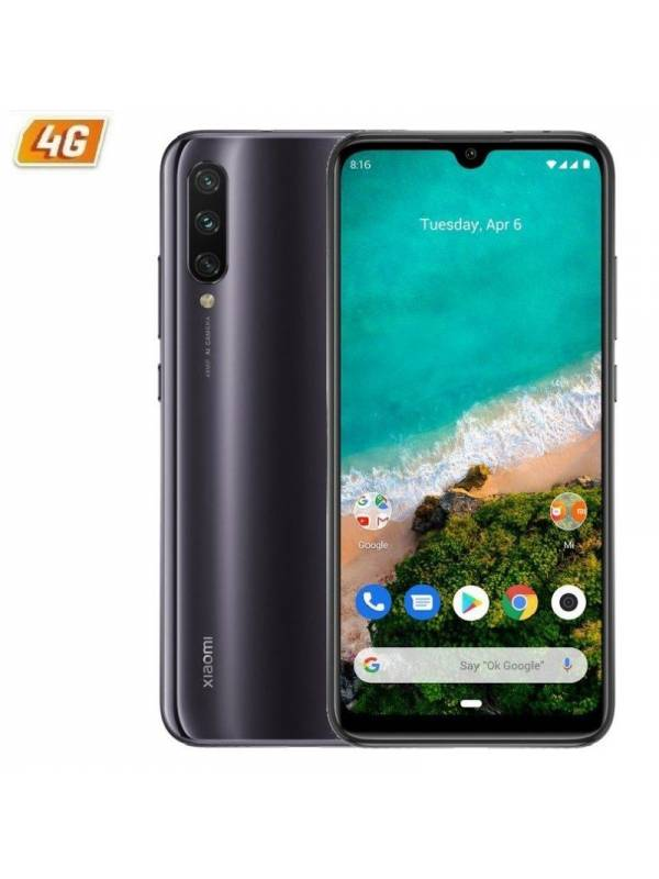 SMARTPHONE 6.09 XIAOMI MI A3  4GB 64GB ANDROID ONE GREY