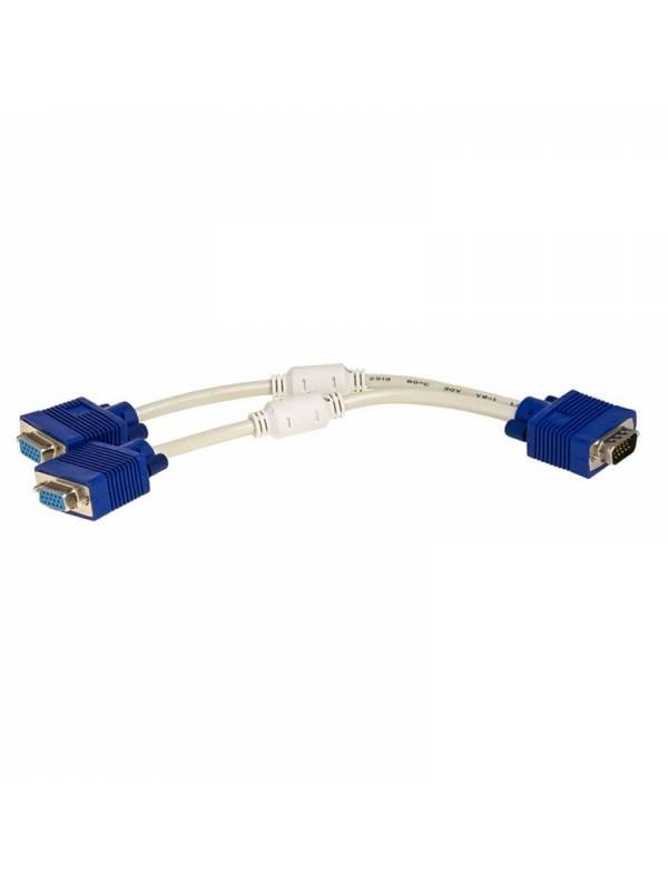 DUPLICADOR VGA 0.30CM A 2X