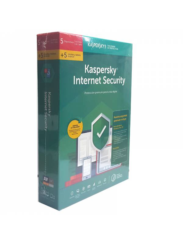 AV IS. 5LC KASPERSKY TOTAL SE  CURITY 2019 + 5 MOVILES/TABLET