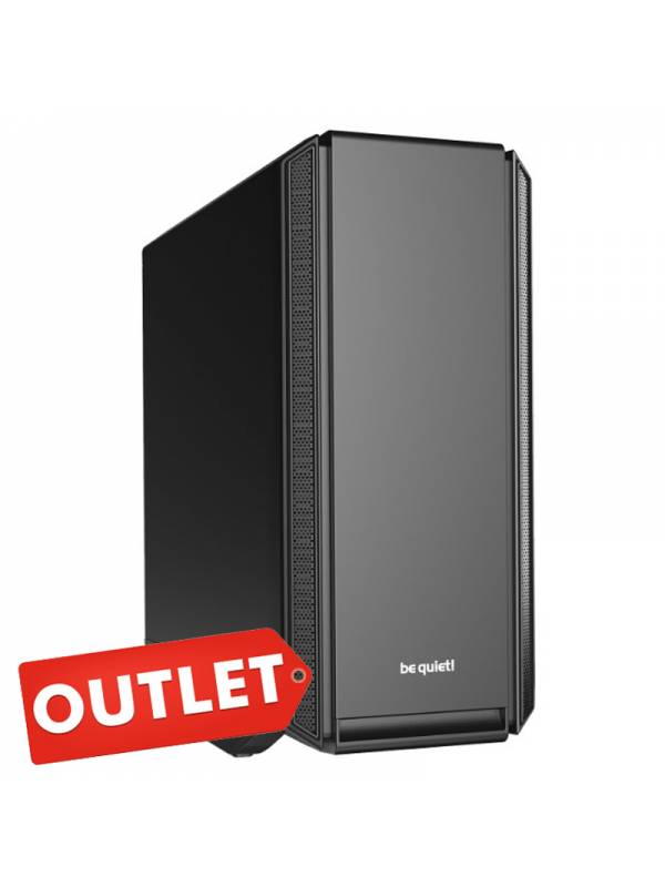 CAJA SERVER E-ATX BE QUIET SIL ENT BASE 801 SIN FUENTE, NEGRA