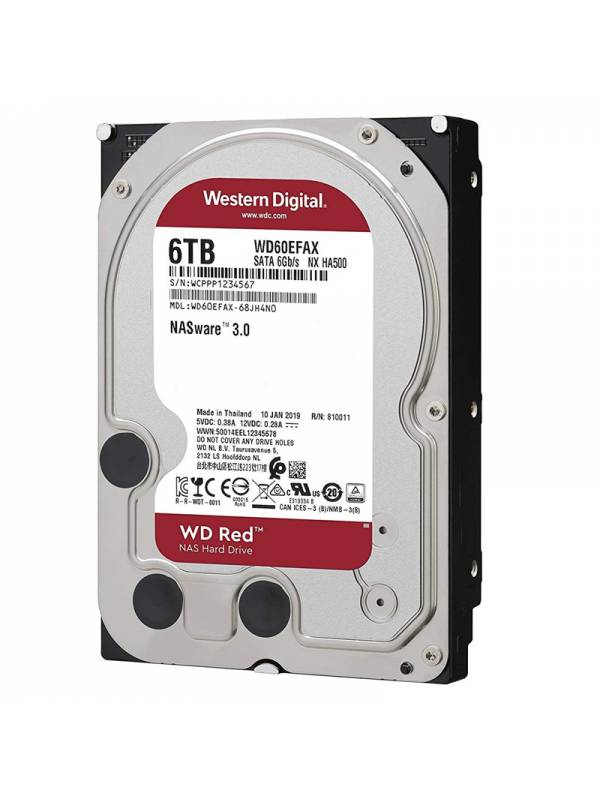 DISCO 3.5   6TB WD SATA3 NASW ARE RED