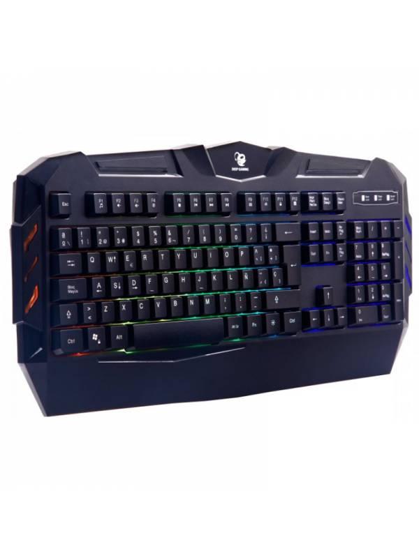 TECLADO USB GAMING COOLBOX DEE P COLORKEY RGB