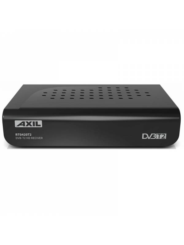 RECEPTOR SOBREMESA DVB-T2 CON  HD GRABADOR AXIL
