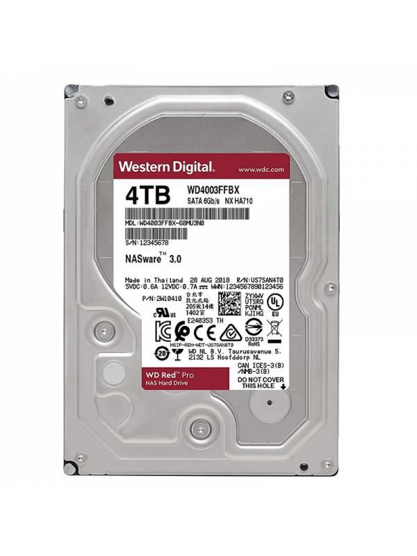 DISCO 3.5   4TB WD SATA3 RED  PRO