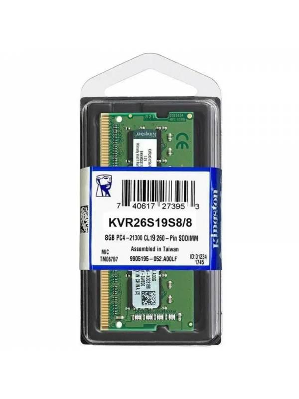 SODIMM DDR4  8GB2666 KINGSTON