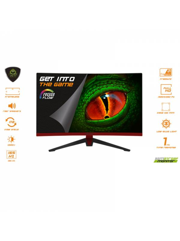 MONITOR 27 KEEP OUT CURVED    GAMIN RGB XGM27RGBF FHD