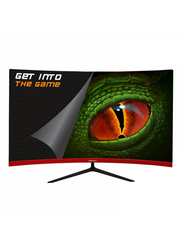 MONITOR 23.6 KEEP OUT CURVED   GAMING XGM24C+ FHD