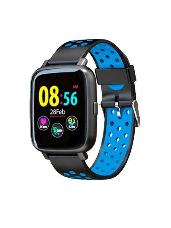 RELOJ SMARTWATCH BILLOW XS35BB L  SPORT WATCH IP67 NEGRO-AZUL