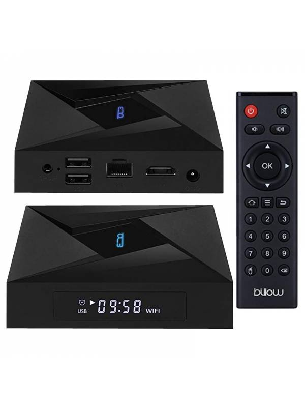 SMARTV BILLOW MD10PRO 3GB 32GB  4K ANDROID DOBLE BANDA NEGRO