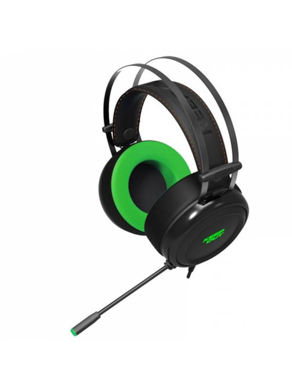 AURI. + MIC KEEP OUT HX10 GAMI NG 7.1 PCPS4XBOX NEGRO-VERDE
