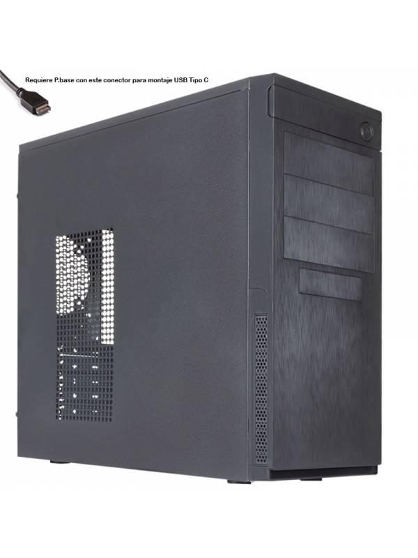 CAJA SEMITORRE ATX 8K CAVIAR   PRO USB 3.1 TYPE C SIN/FUENTE