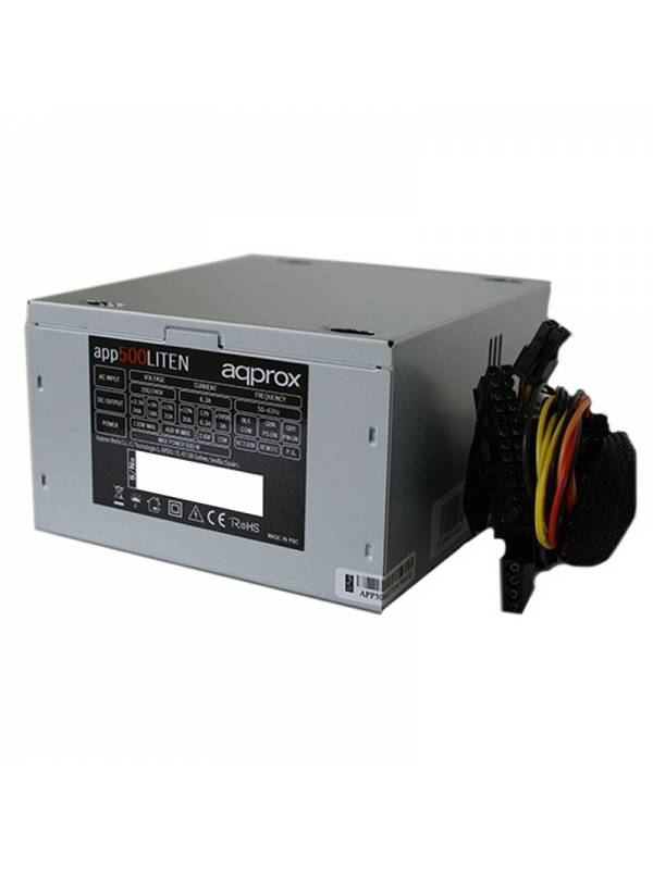 FUENTE 500W20A APP500LITEN02+ CABLE APPROX