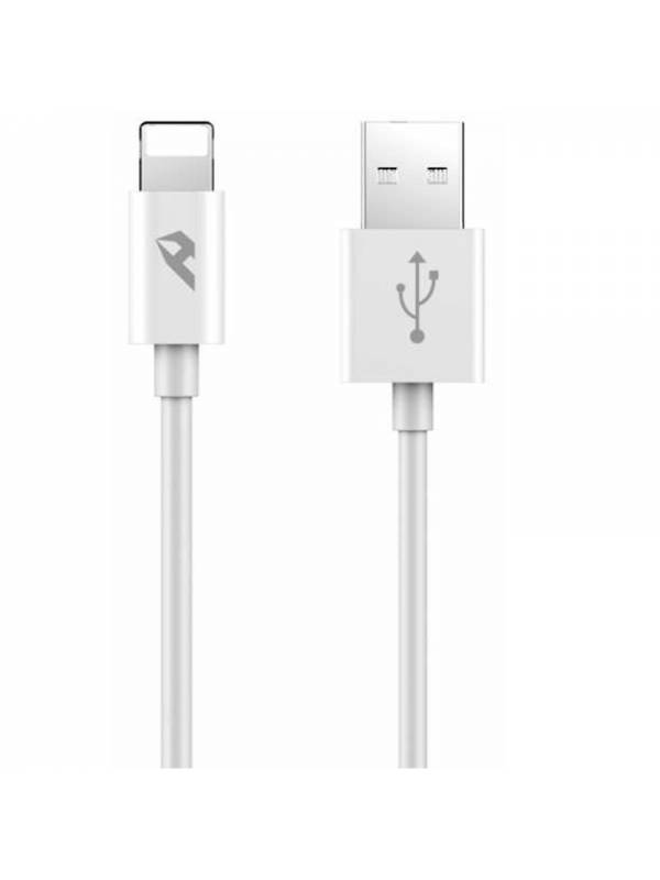 CABLE USB 2.0 TIPO A-LIGHTNING  1M BLANCO