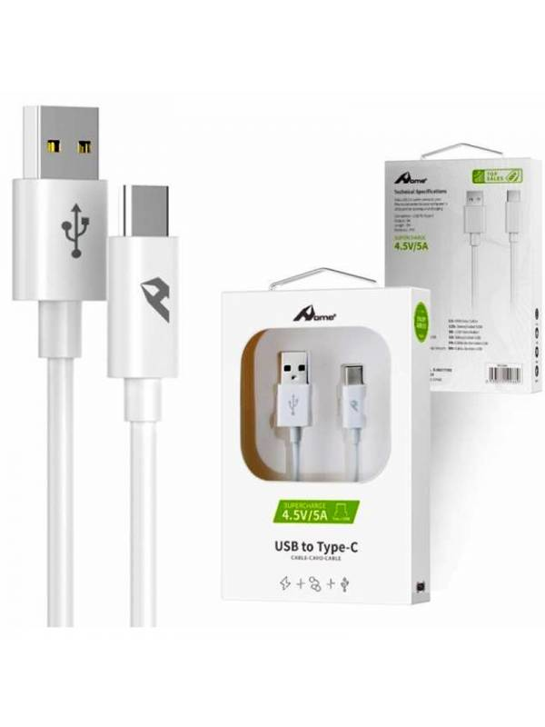 CABLE USB 2.0 TIPO A - MICRO U SB 1M BLANCO