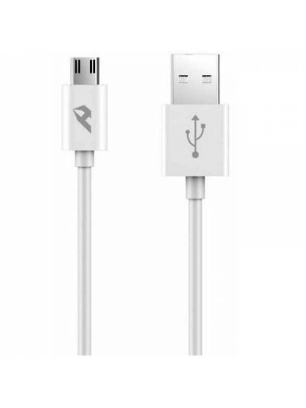 CABLE USB 2.0  TIPO A-MICRO US B 1M BLANCO