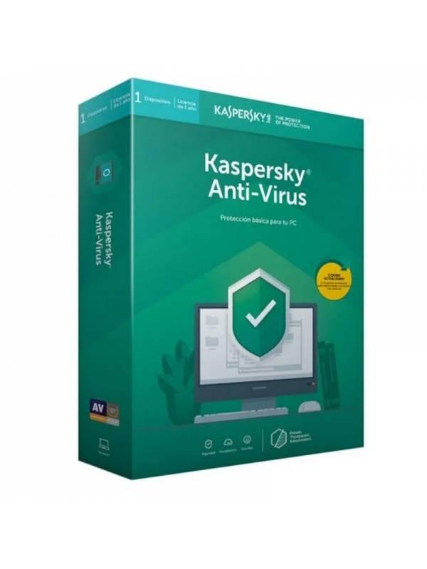 ANTIV. 1LC KASPERSKY AV2020    1 AÑO