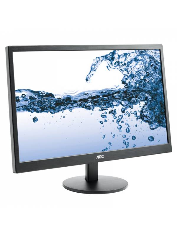 MONITOR 21.5 AOC LED E2270SWH  FULL HD HDMI,VGA NEGRO