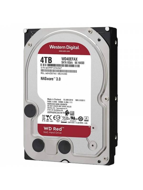DISCO 3.5   4TB WD SATA3 RED  NAS WARE 3.0