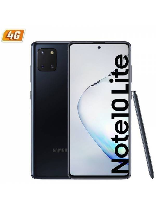 SMARTPHONE 6.7 SAMSUNG GALAXY  NOTE 10 LITE 6GB 128GB NEGRO