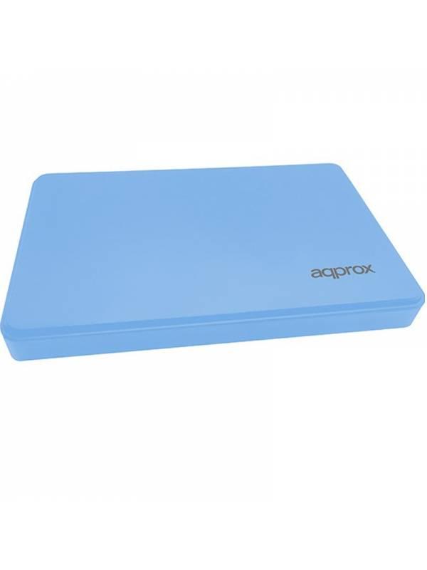 CAJA 2.5 USB 3.0 APPROX AZUL  9.5mm ENCLOSURE HASTA 2TB