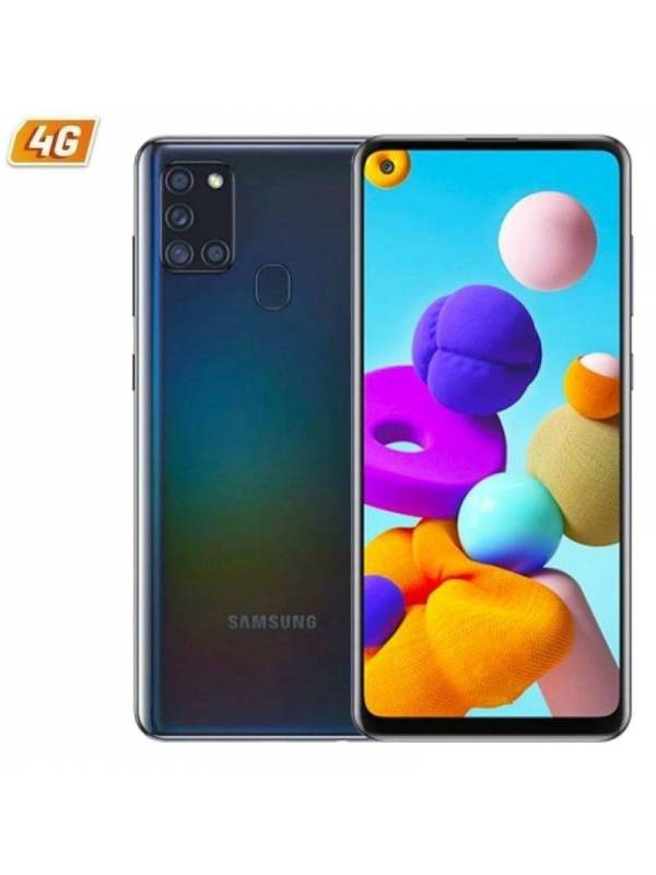 SMARTPHONE 6.5 SAMSUNG A21S B LACK 3GB 32GB DUAL SIM