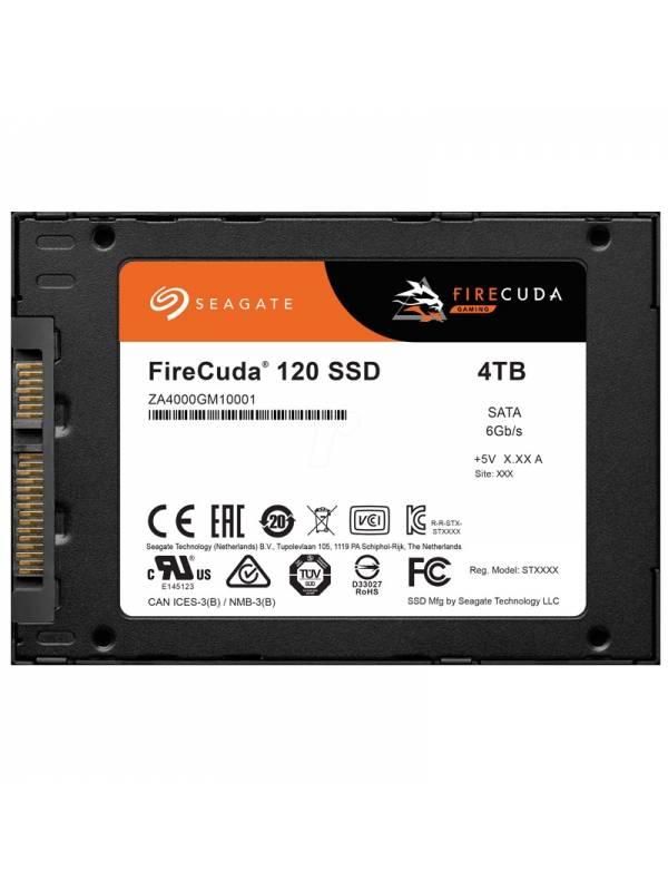 DISCO SSD 4TB SEAGATE SATA 3   2.5 FIRECUDA