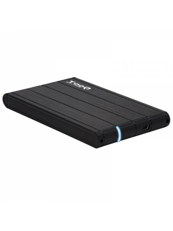CAJA 2.5 USB 3.03.1 TOOQ     TQE-2530B 9.5mm NEGRA