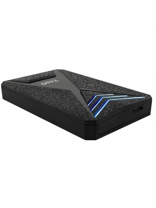 CAJA 2.5 USB 3.03.1 TOOQ     TQE-2550BL 9.5mm NEGRAAZUL