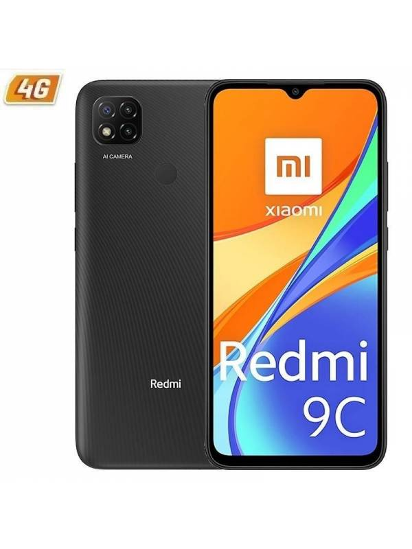 SMARPTHONE 6.53 XIAOMI REDMI  9C 2GB 32GB MIDNIGHT GREY