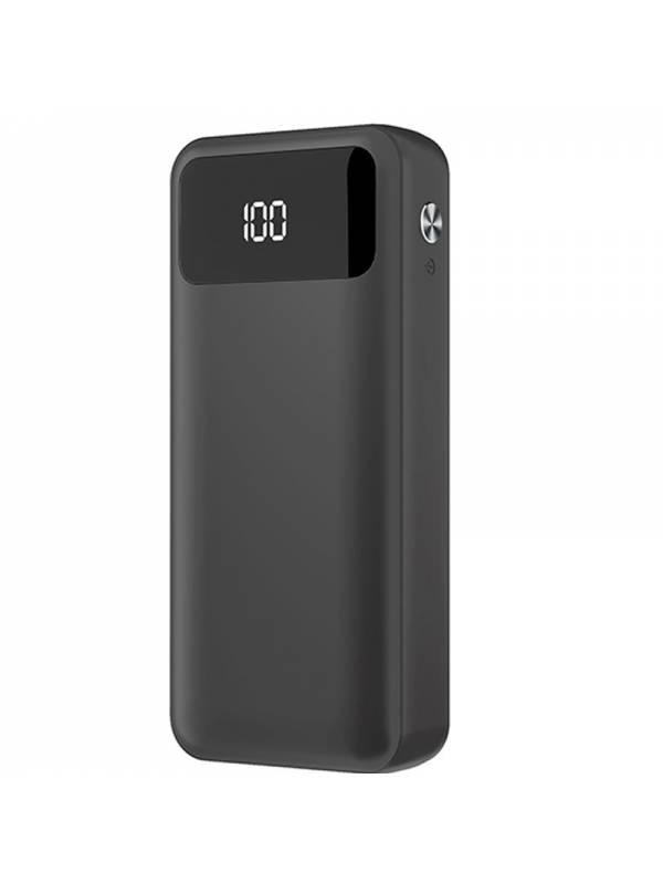 POWERBANK 10000 MAH 2.1A 3.7V   2 X USB NEGRO