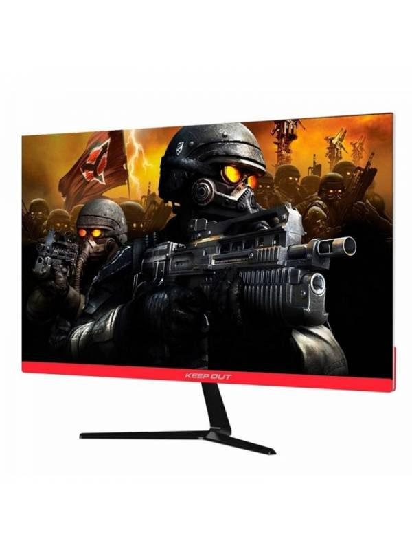 MONITOR 24 KEEP OUT XGM24F+   FULL HD 144Hz NEGRO/ROJO