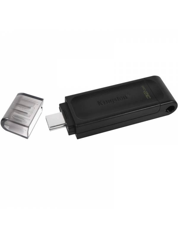 MEMORIA USB-C 3.2 32GB KINGSTO N NEGRO