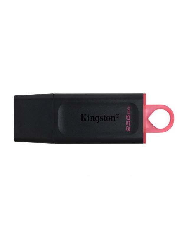 MEMORIA USB 3.2 256GB KINGSTON  DATATRAVELER EXODIA NEGRO