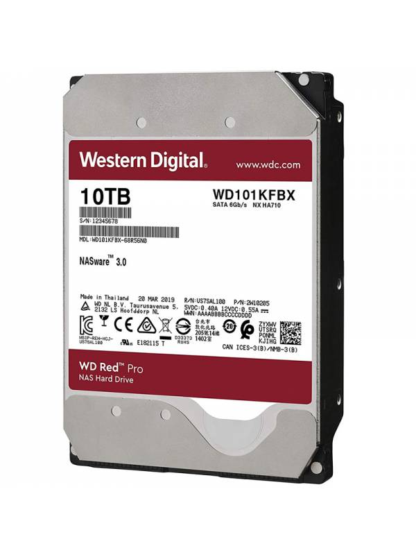 DISCO 3.5  10TB WD SATA3 RED