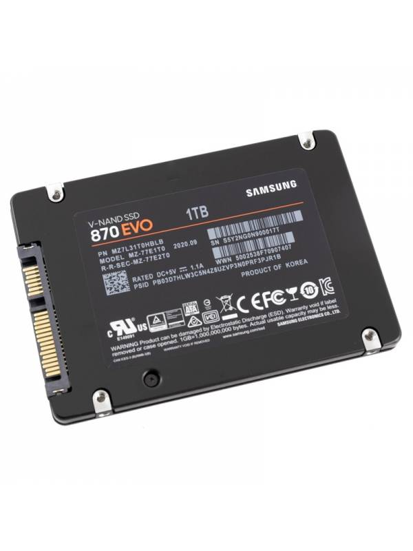 DISCO SSD 1TB    SAMSUNG SATA  3 EVO 870 SIN ADAPTADOR