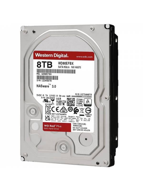 DISCO 3.5   8TB WD RED NAS    PLUS